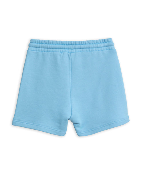 Mini Rodini Banana sp sweatshorts Light blue