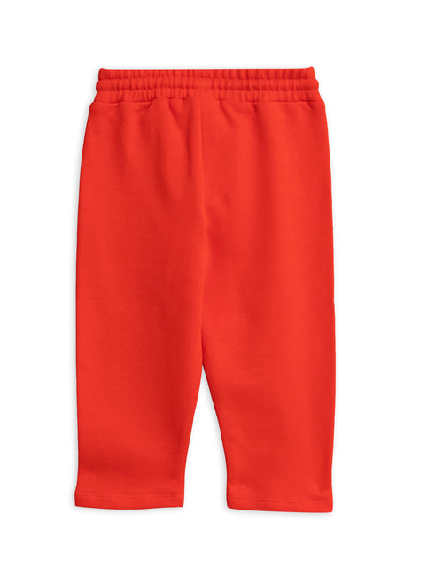 Mini Rodini Banana sp sweatpants Red