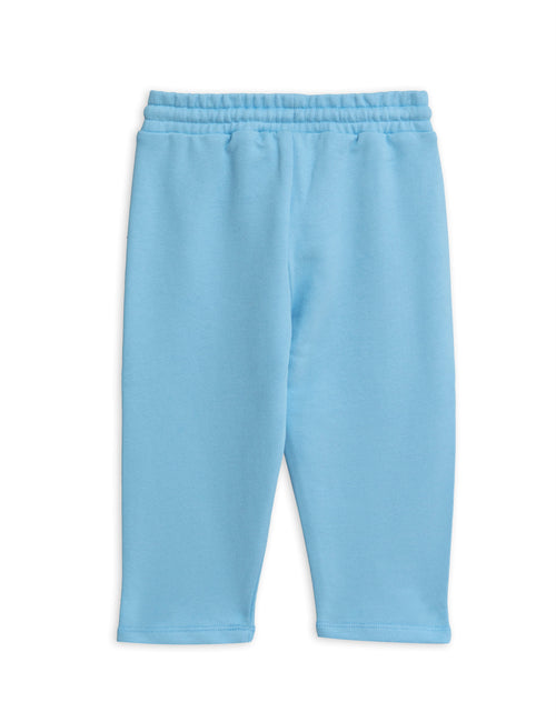 Mini Rodini Banana sp sweatpants Light blue