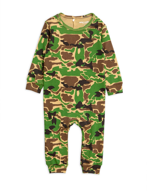 Camo Jumpsuit Green