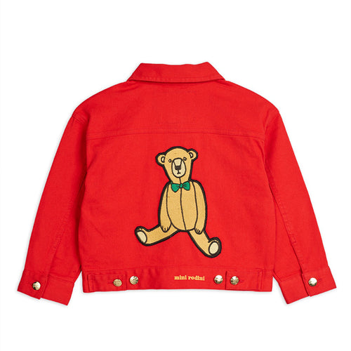 Teddy Bear Denim Jacket