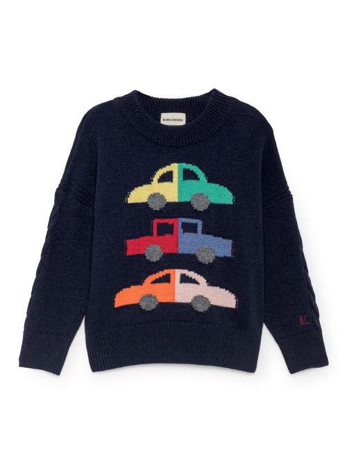 Merino Cars Jumper