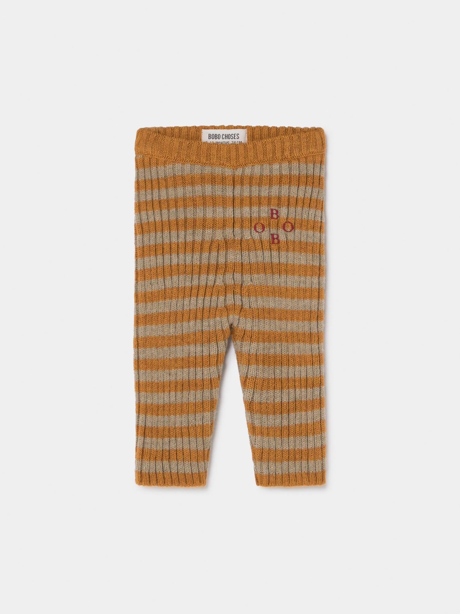 Bobo Striped Knitted Leggings