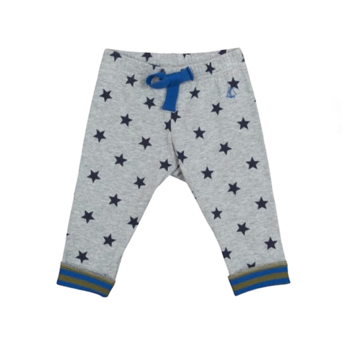 Baby Boys SMOKING GREY STARS PANTS