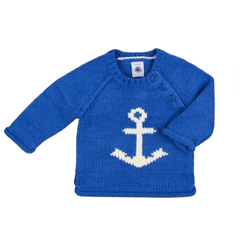 Baby Boys BLUE PULLOVER