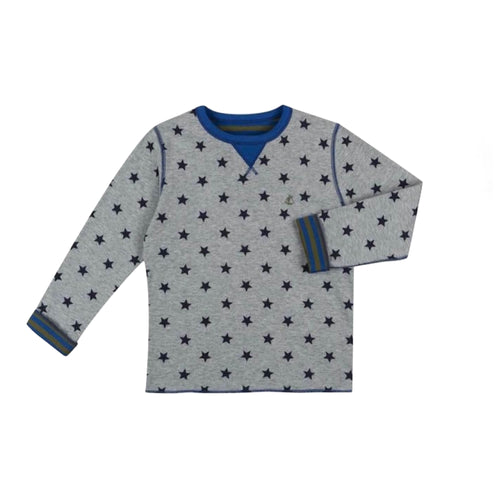 Baby Boys SMOKING GREY STARS TEE-SHIRT