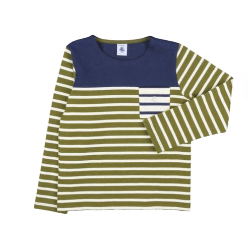Baby Boys GREEN Stripes T-SHIRT