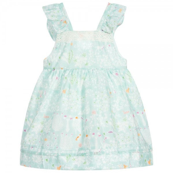 Baby Girl Green Spring Dress