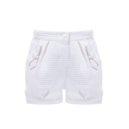 Shorts Mini Girl Pale White