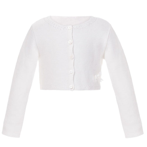 Jacket Special Occasion Girl Whit