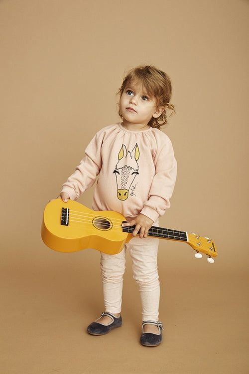 Baby Girls Peach Beige Annabel Sweatshirt