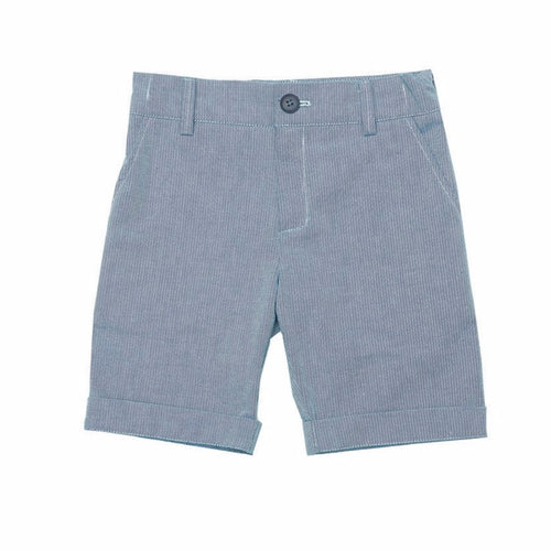 Blue Organic Cotton Boys Shorts