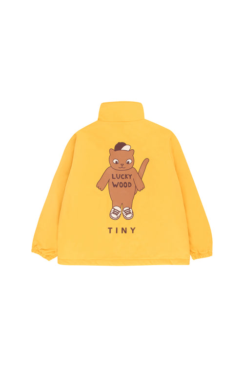 """Cat"" Jacket  Yellow/Brown"