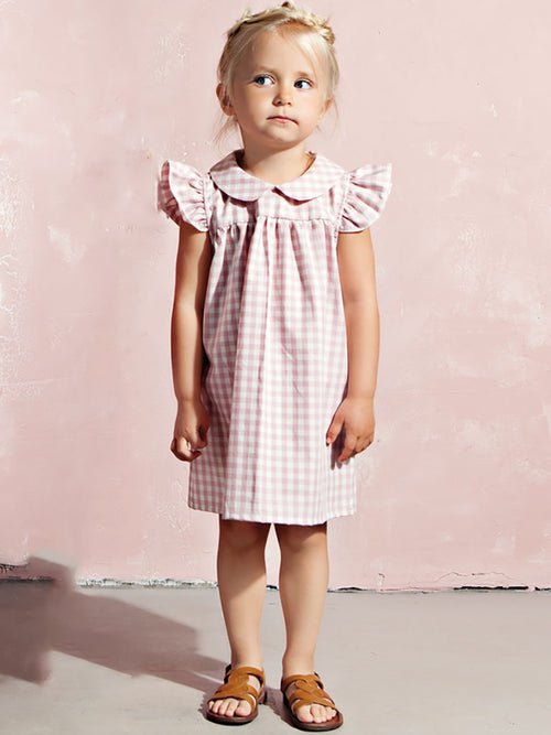 Louisa Dress Pink Gingham