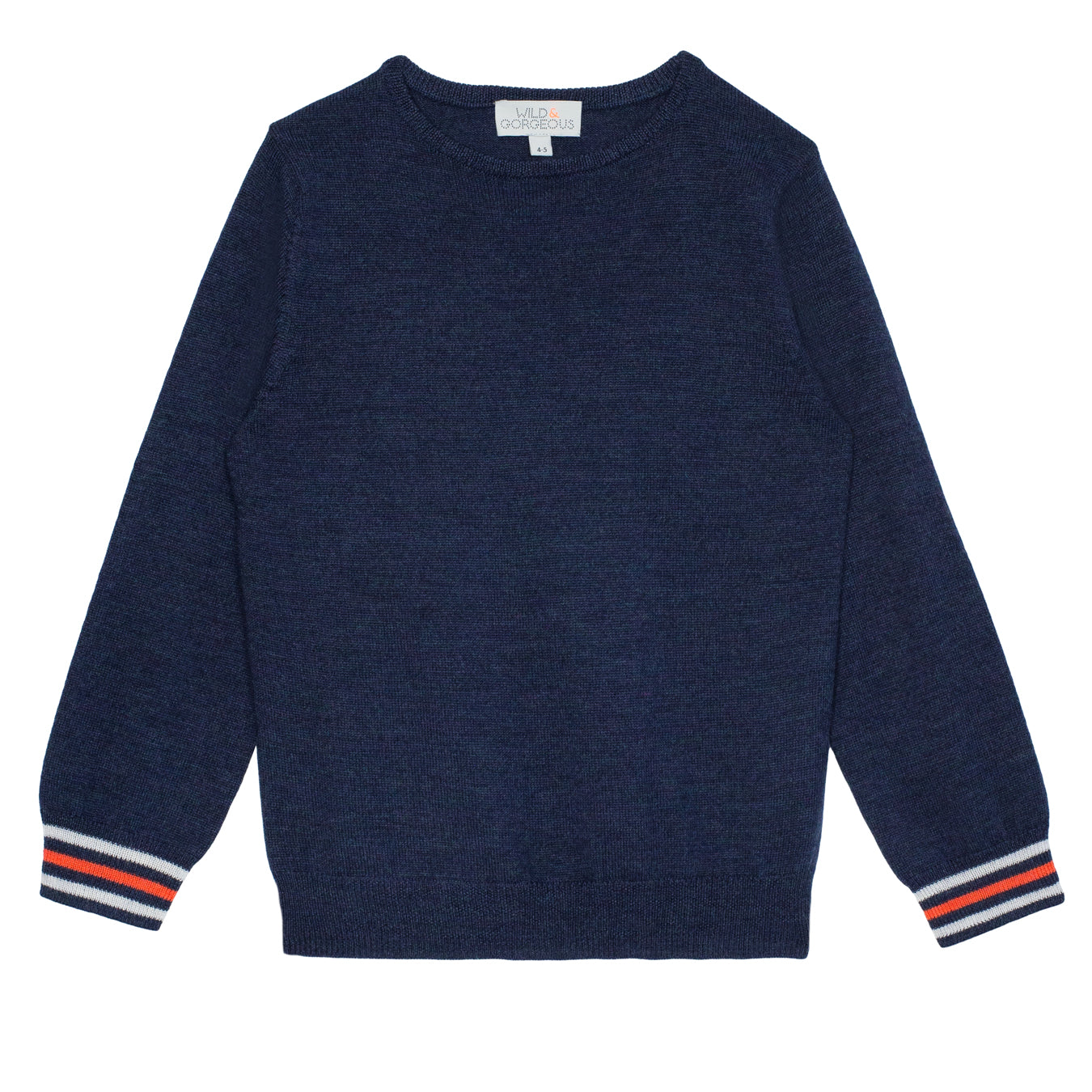 BOYS Navy Planet sweater