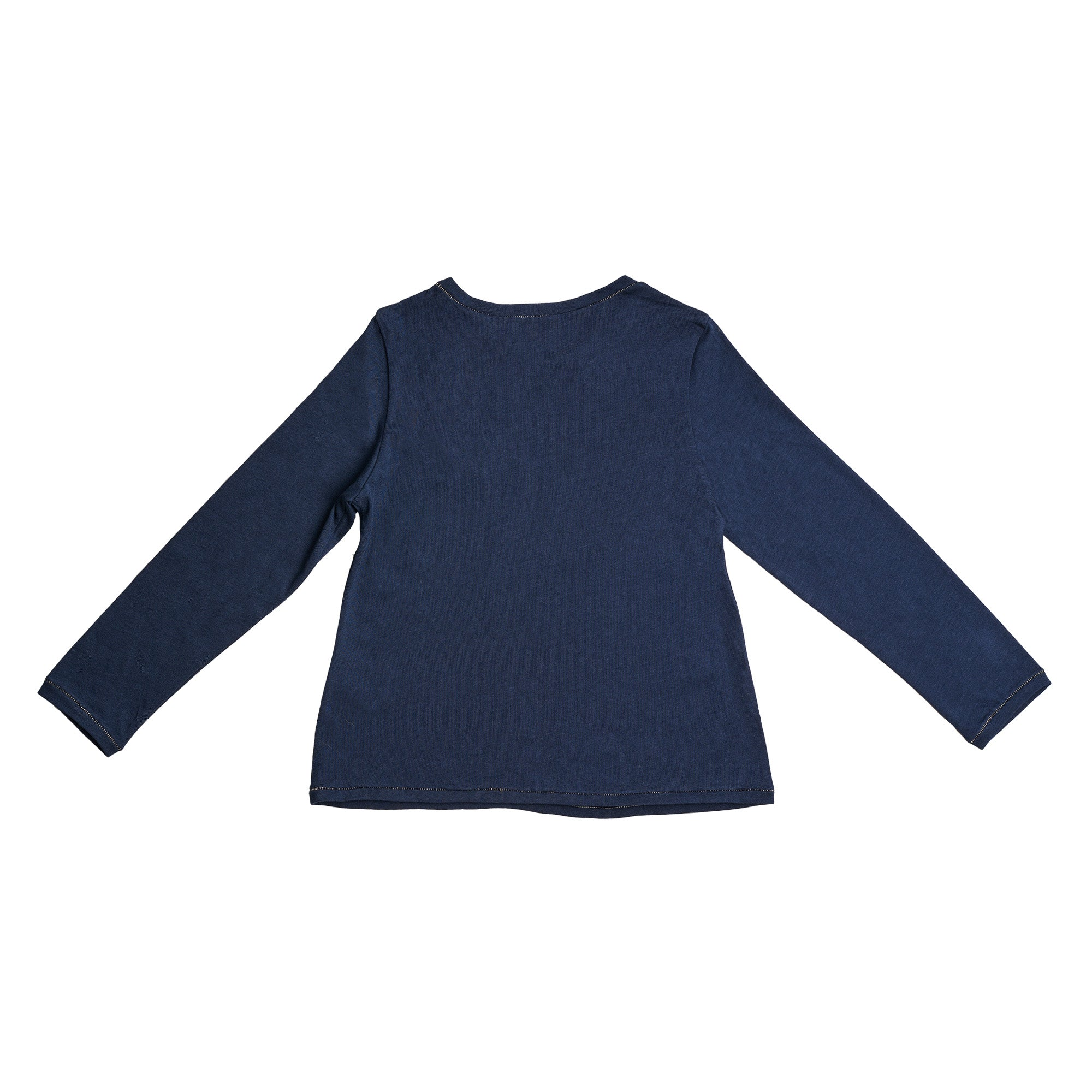Girls Navy TEE-SHIRT