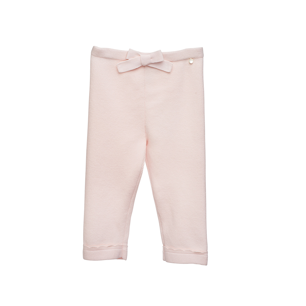Baby Girls Pink Knit Pants