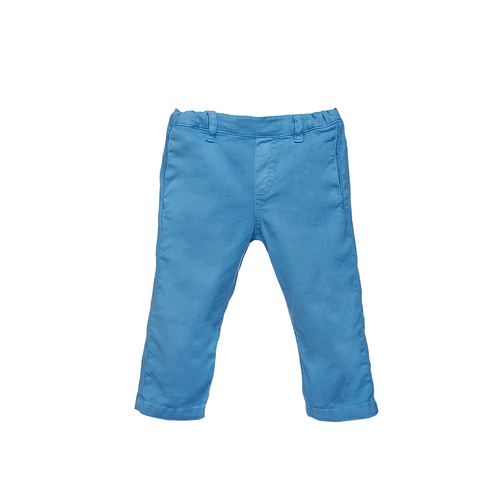 Boys Blue Cotton Pants