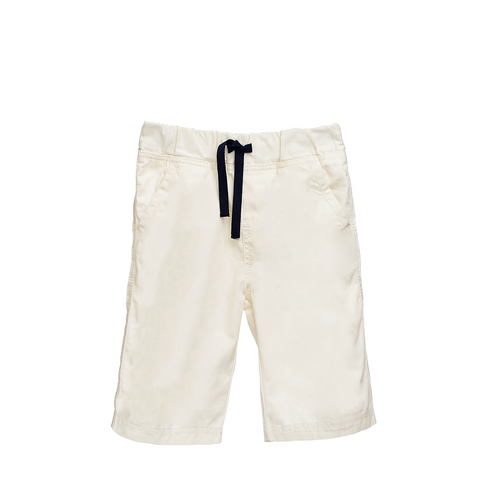 Boys Ivory Bermuda Shorts