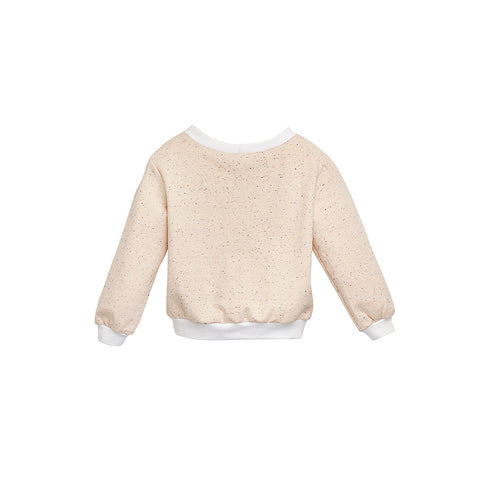 Baby Girls Cream Jersey Sweatshirt