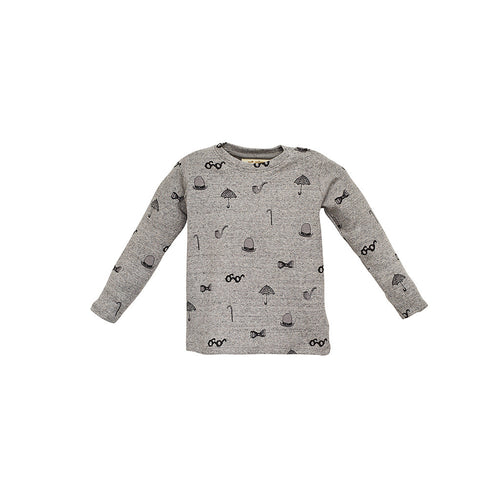 Baby Boys Grey Harald Top