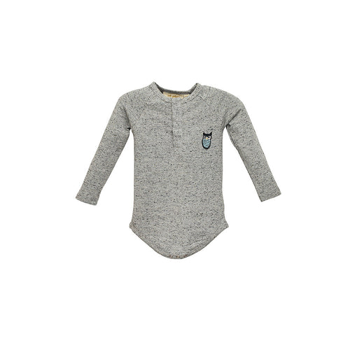 Baby Boys Grey Rupert Bodysuit
