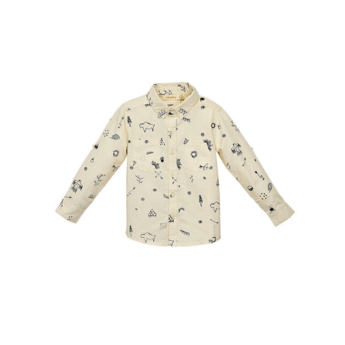 Baby Boys White Severin Shirt