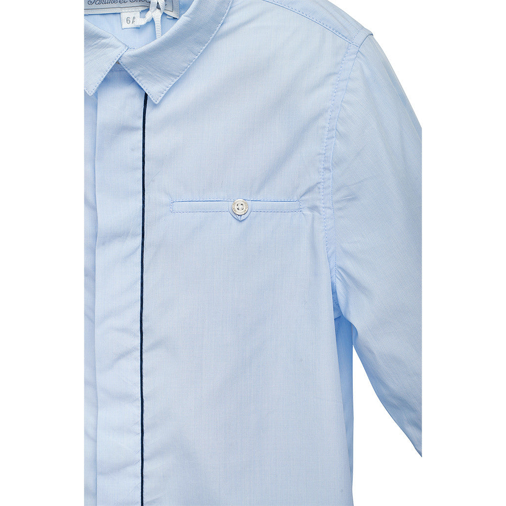 Boys Blue Shirt