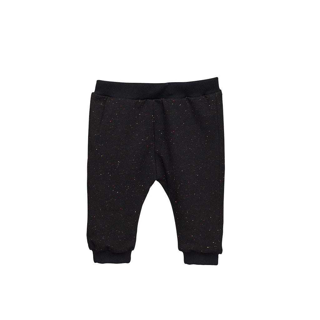 Black Jersey Baby Boys Pants