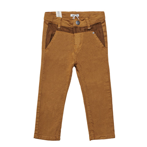 BOY SLACKS LUCKY CAMEL PANTS