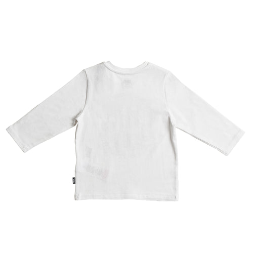 BABY GIRLS WHITE TEE-SHIRT