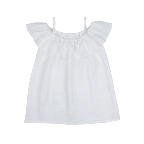 BIRGITTE DRESS Natural White