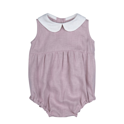 LOVE ROMPER DUSTY PINK
