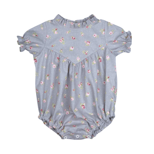 JULIANNE ROMPER GREY ROSES