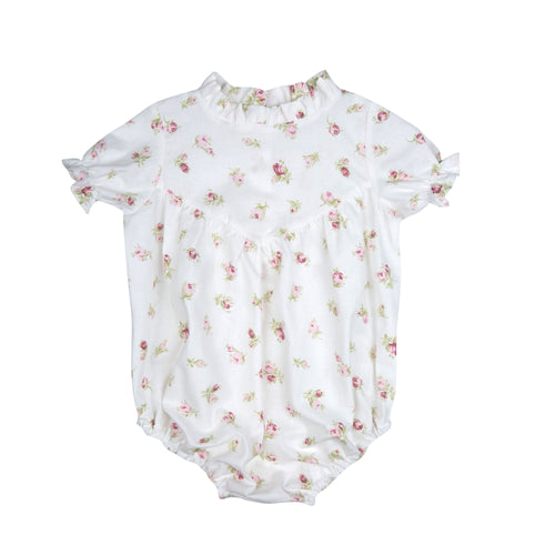 JULIANNE ROMPER WHITE ROSES