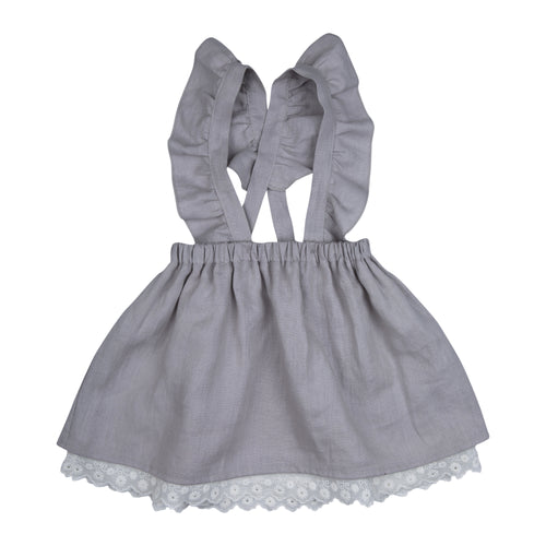 Girls Grey Ingrid Skirt
