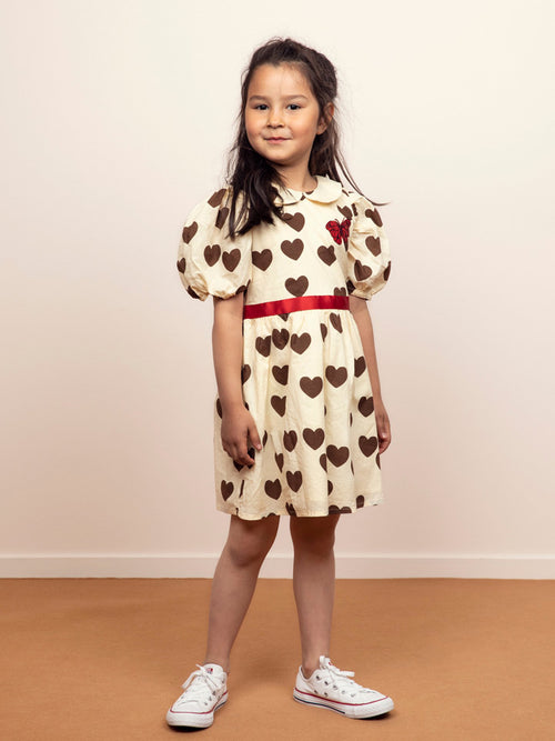 Hearts Puff Dress