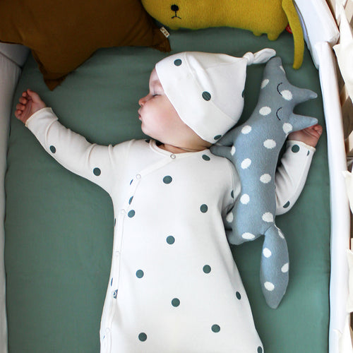 Organic Zoo Dots Baby Hat