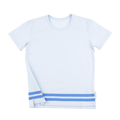 Tinycottons Blue Lined T-Shirt