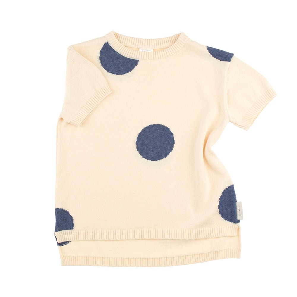 Tinycottons Navy Polka Dot Sweater