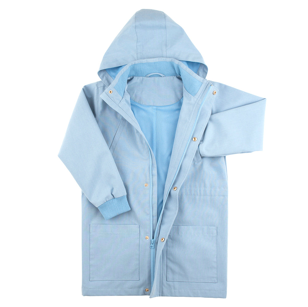Tinycottons Cerulean Blue Spring Jacket