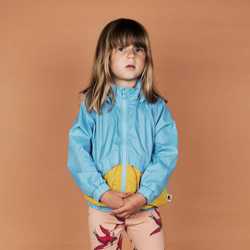 Mini Rodini Sporty Light Blue Wind Jacket