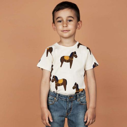 Horse T-shirt yellow