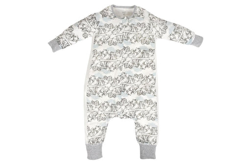 Bamboo Long Sleeve Sleep Suit 0.6 TOG - Tiger Dream