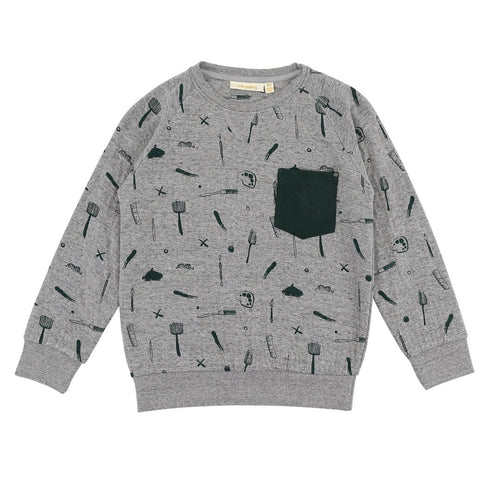 Boys Grey Ryan Sweatshirt