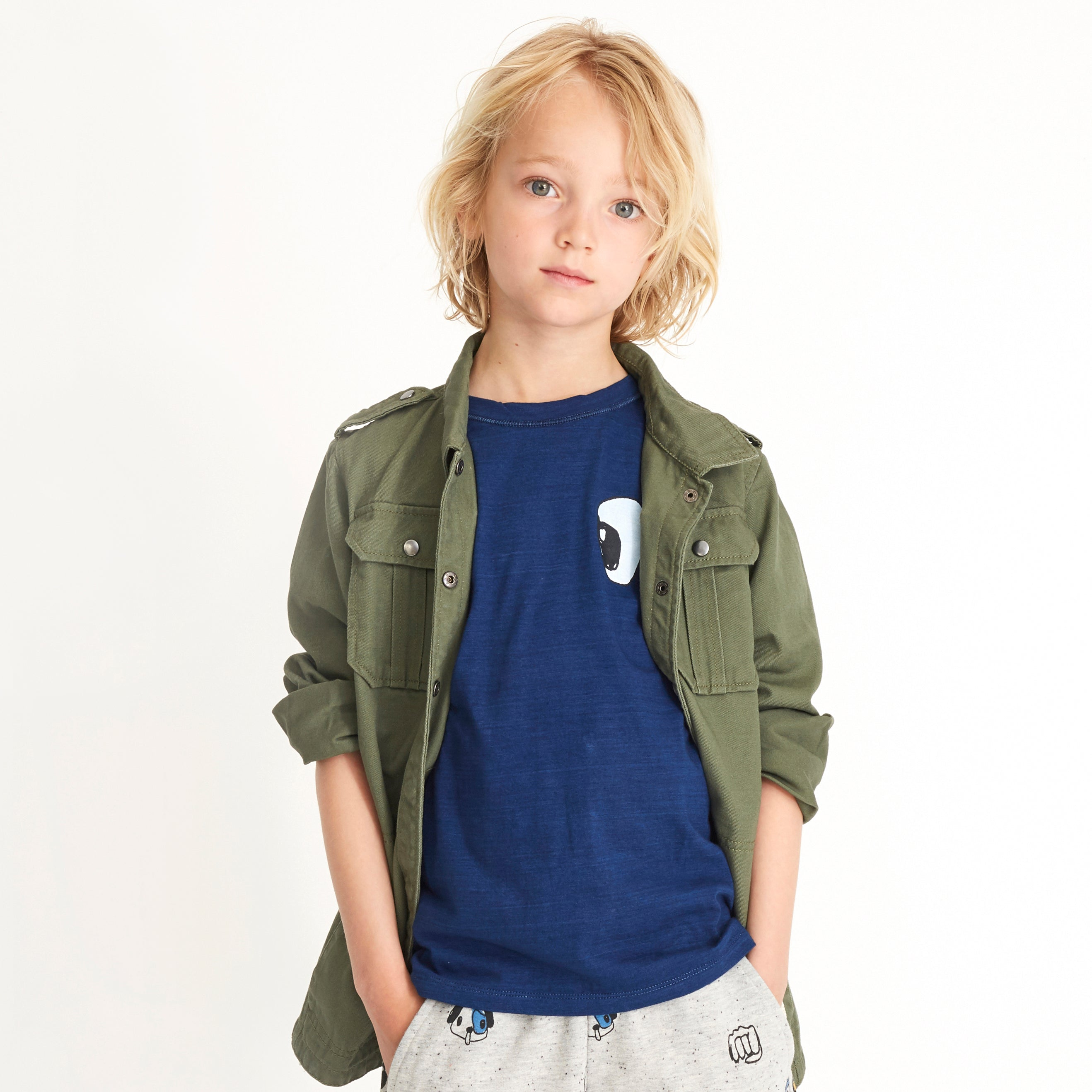 Boys Grafitti Four Leaf Clover Aspen Jacket