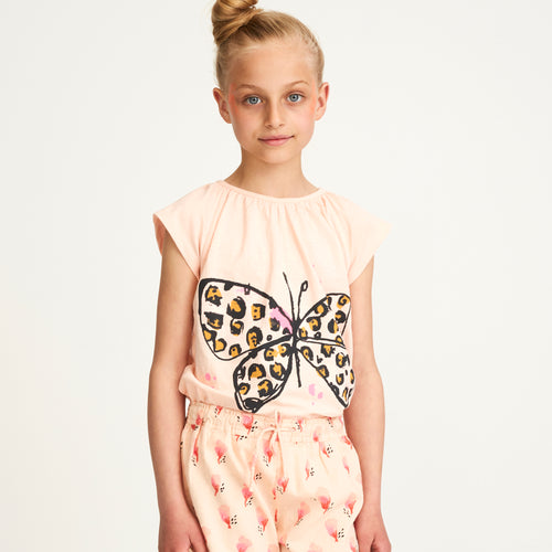 Girls Leofly Peach Parfait Olivia Top