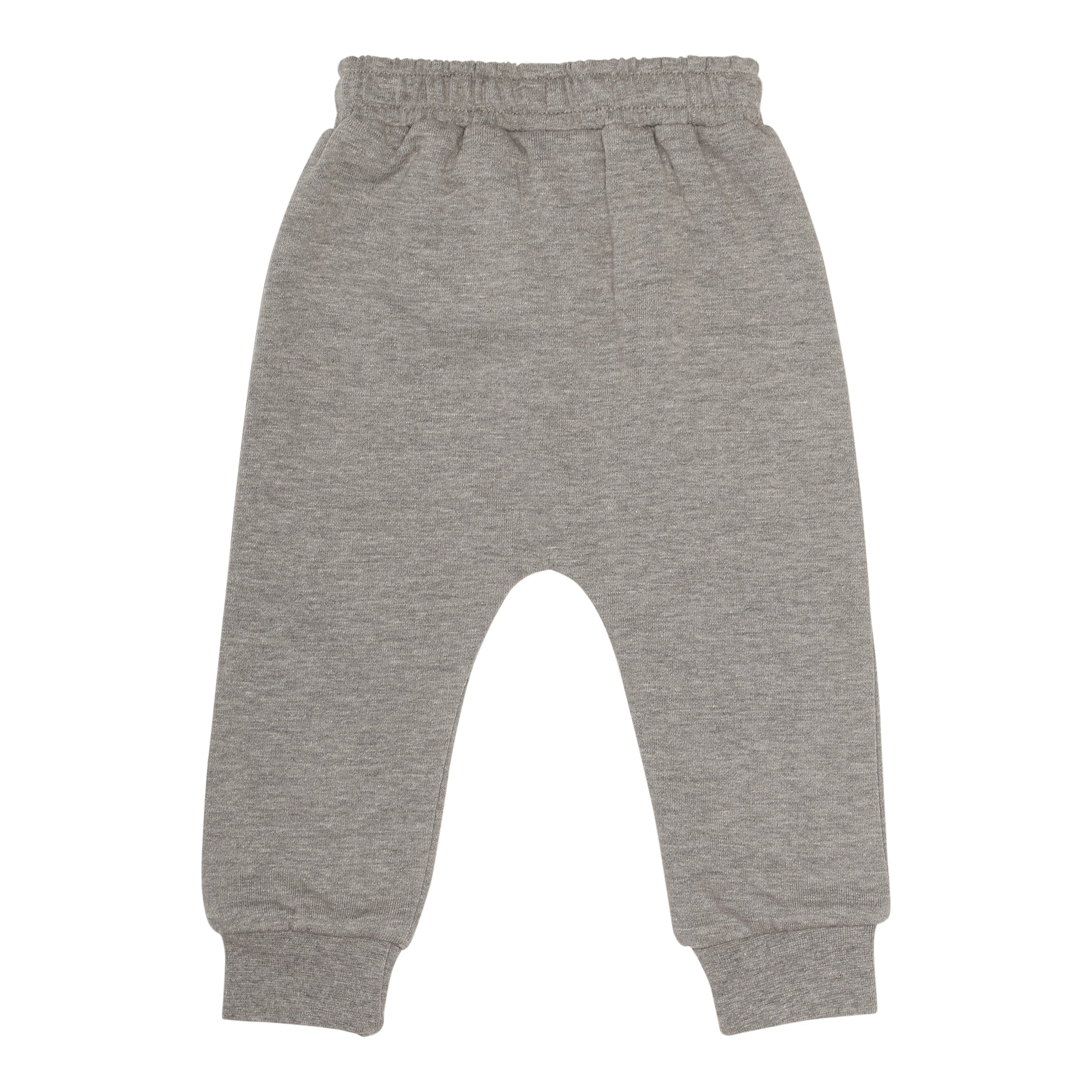 Baby Panda Grey Melange Alexi Sweatshirt and Sweatpants Set