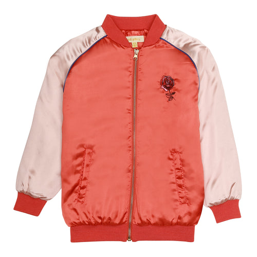 Girls Power Rose Cloud Sandy Jacket
