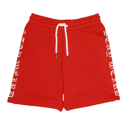 Boys/Girls Stay Weird Flame Scarlet Alfred Shorts